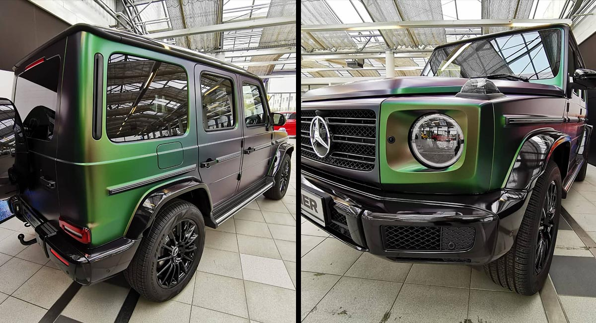Mercedes Benz G-Klasse - Car Wrapping