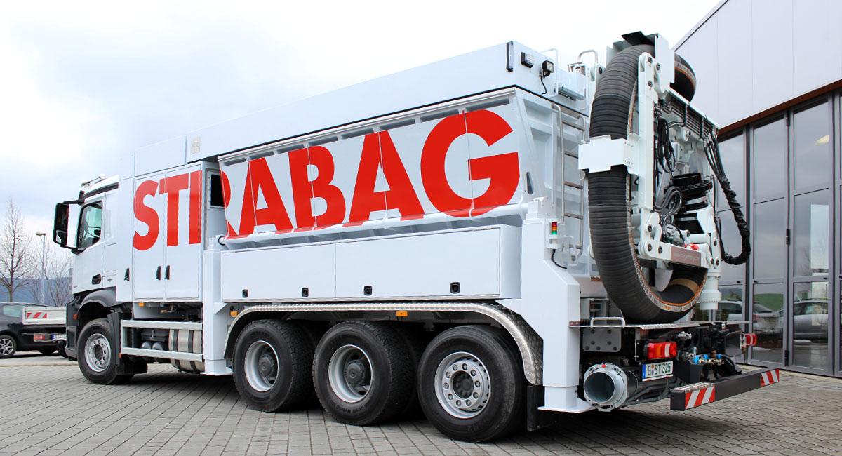 Strabag AG - Fahrzeugbeschriftung