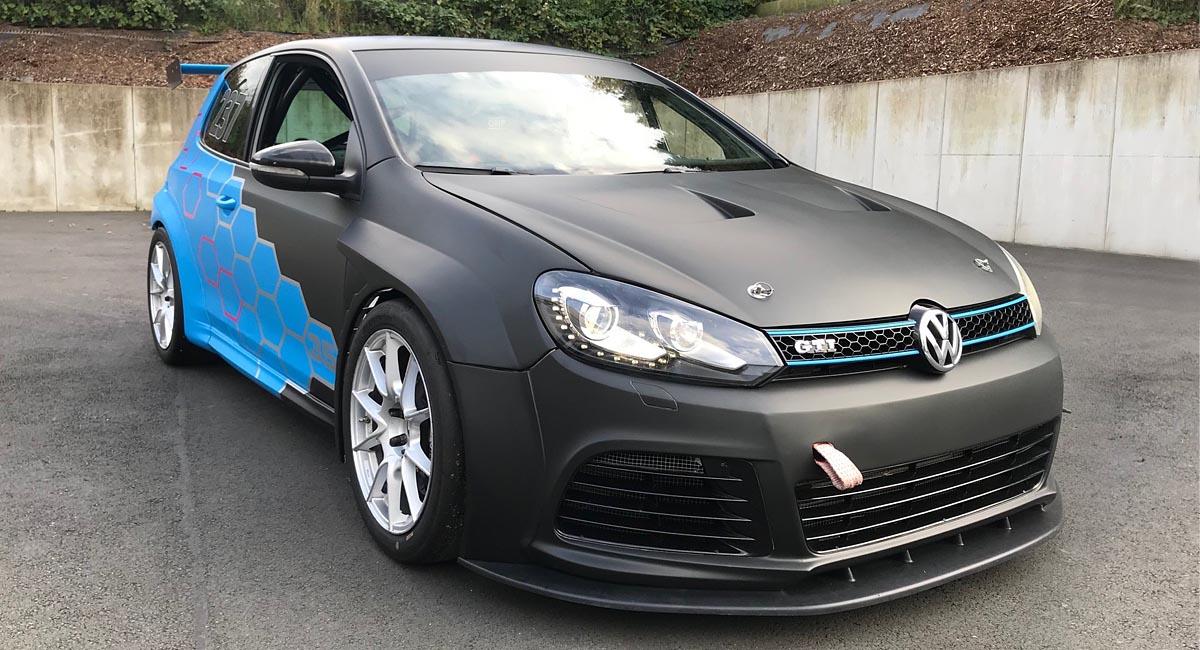 VW Golf - Car Wrapping