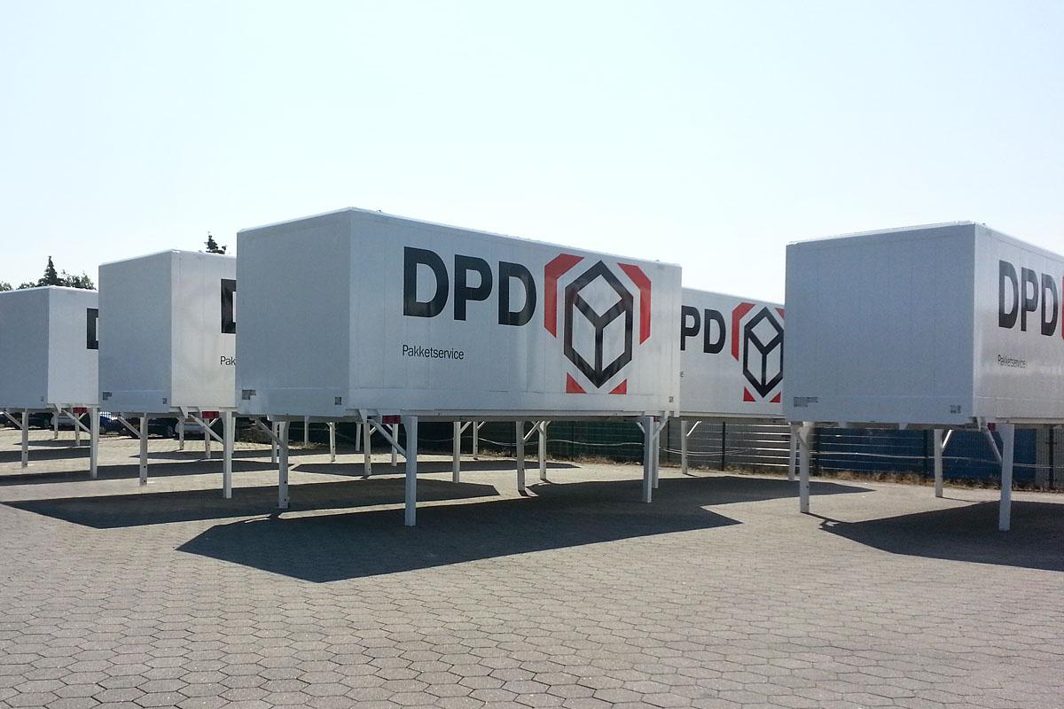 DPD- Beschriftungen