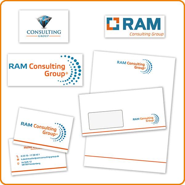 RAM Consulting Logoentwicklung