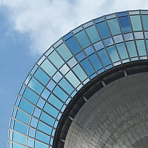 Sonnenschutzfolierung für Gebäude