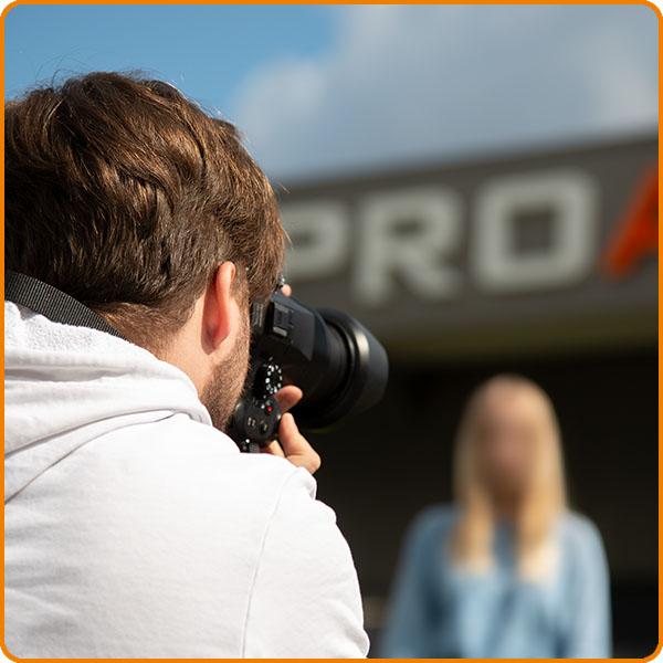Fotoshooting neue Mitarbeiter